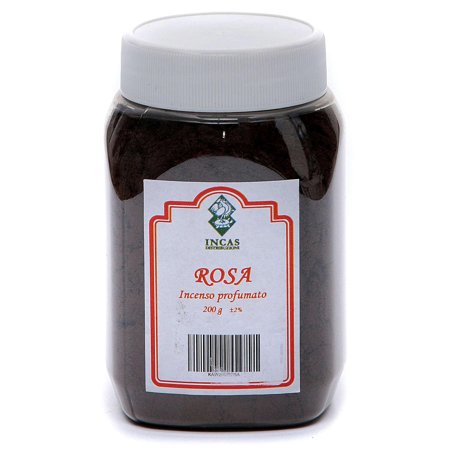Incienso Rosa perfumado en polvo 200 gramos 3