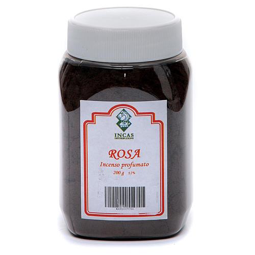 Incienso Rosa perfumado en polvo 200 gramos 2