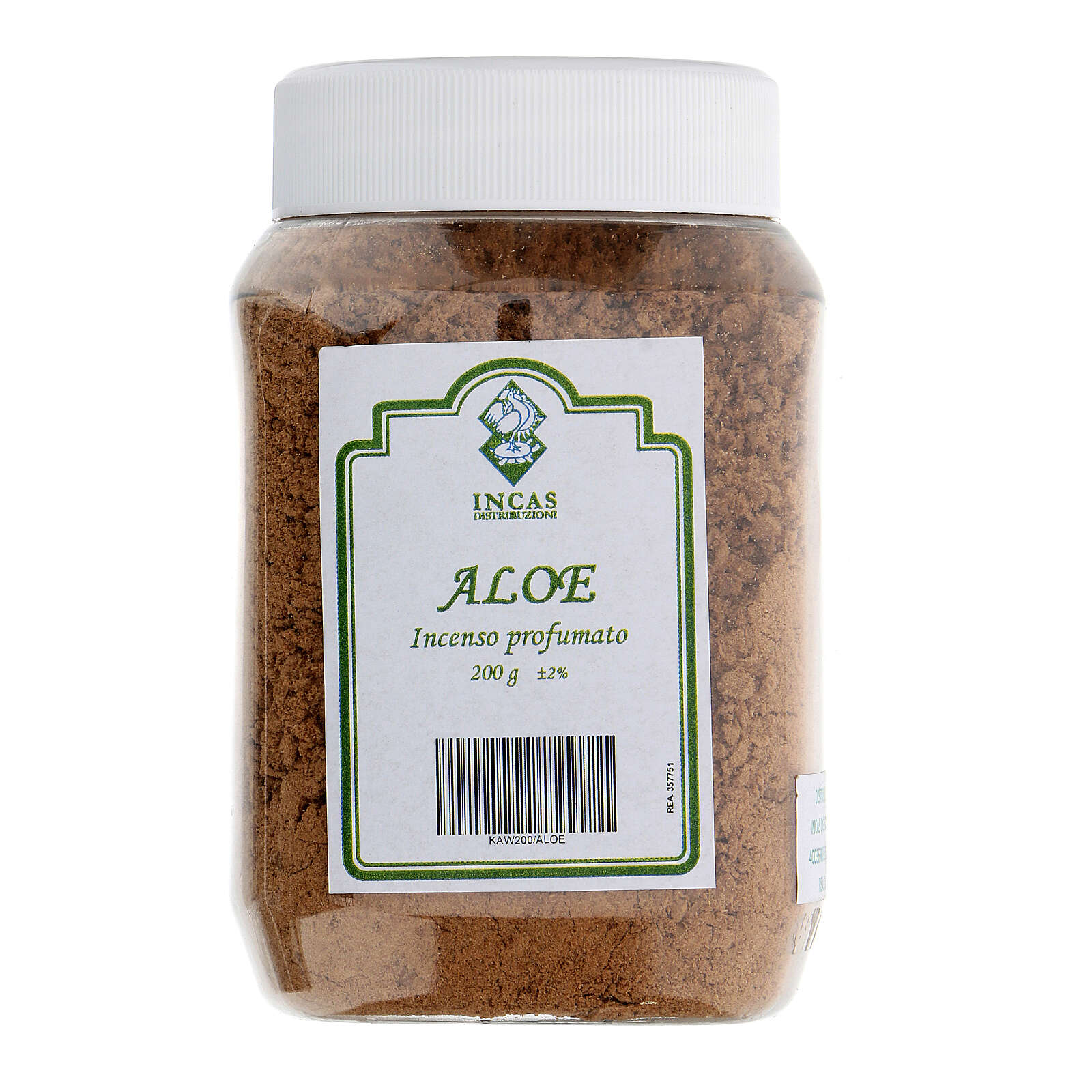 Incenso Aloe profumato in polvere 200 gr 3