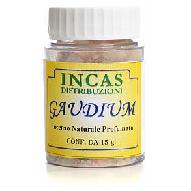 Amostra de incenso Gaudium 15 gr s2