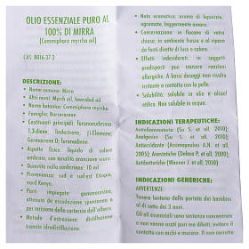 Myrrh essential oil, 100% pure s2