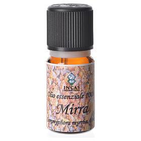 Olio essenziale puro al 100% di Mirra s1