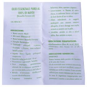 Olio essenziale puro al 100% di Maydi s4