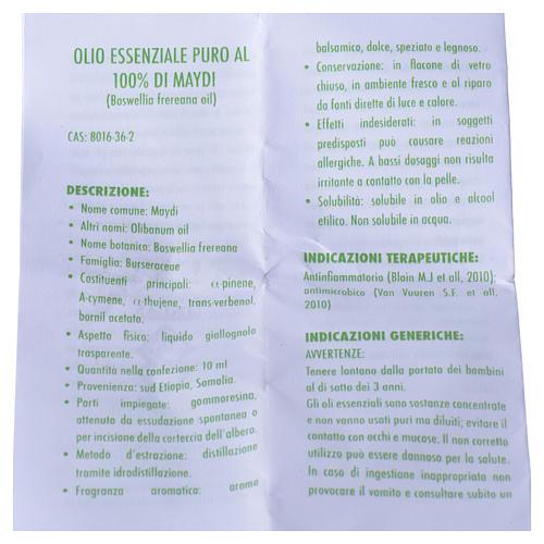 Olejek eteryczny naturalny w 100% Maydi 4