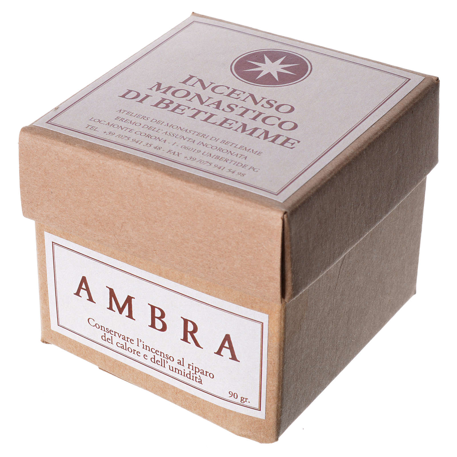 Amber Incense, Bethlehem Monks 90gr 3
