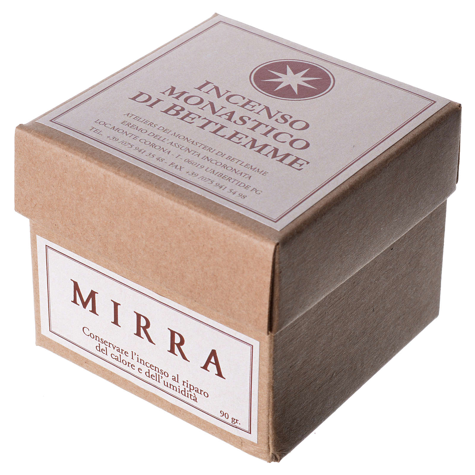 Myrrh Incense, Bethlehem Monks 90gr 3