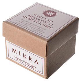 Myrrh Incense, Bethlehem Monks 90gr s2