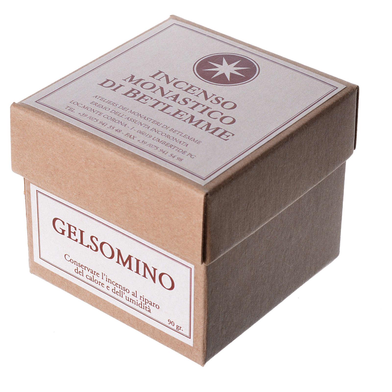 Incenso jasmim Monges de Belém 90 gr 3