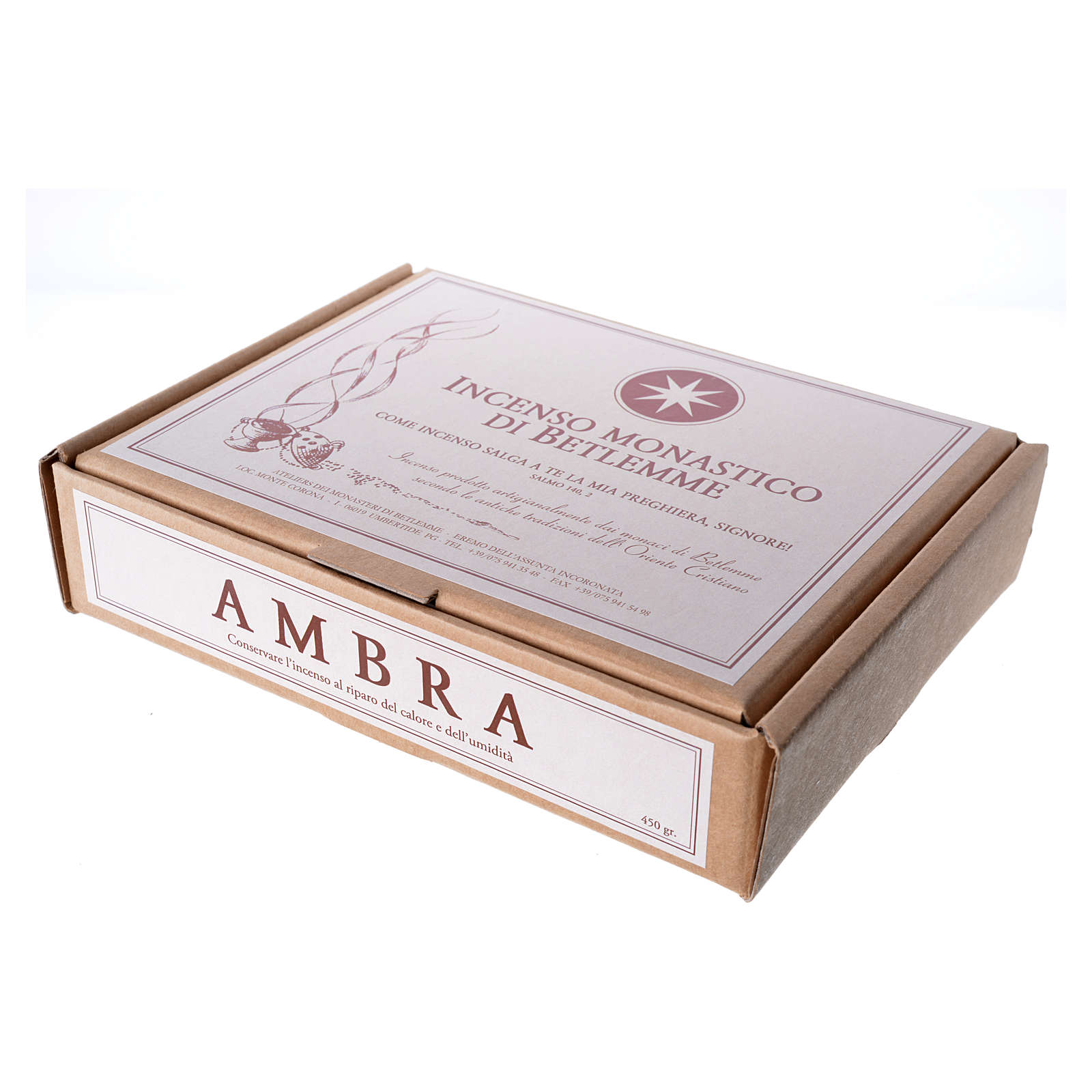 Amber Incense, Bethlehem Monks 450gr 3