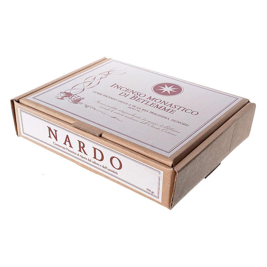 Incienso Nardo 450 gr monjes de belén 3