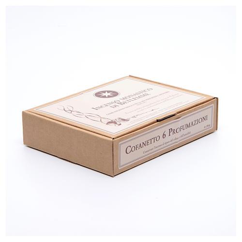 Kit incenso monástico 6 fragrâncias Monges Belém de 50 gr 2