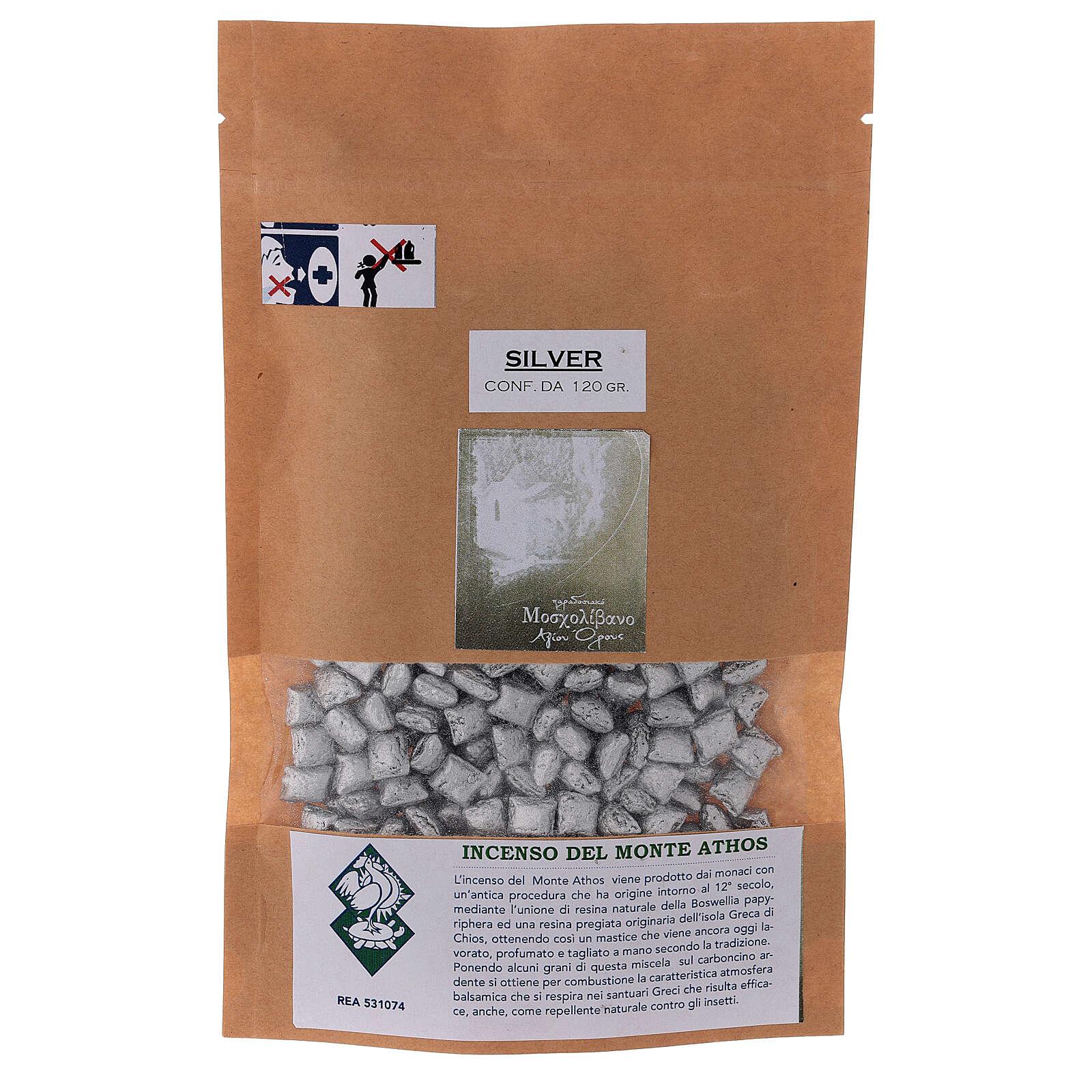 Incienso griego tipo Silver B Monte Athos 120 gr 3