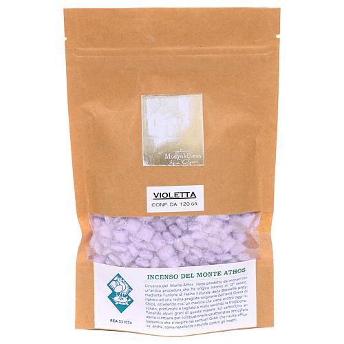 Greek violet perfumed incense Mount Athos 120g 2