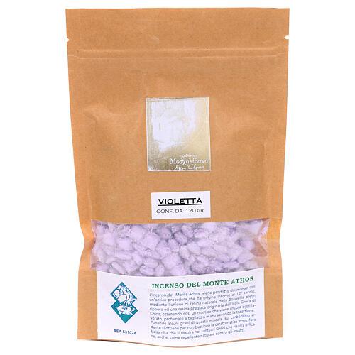 Incienso griego perfumado violeta Monte Athos 120 gr 2