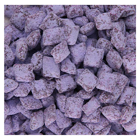 Greek violet perfumed incense Mount Athos 120g s1