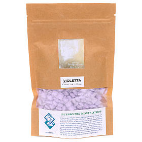 Greek violet perfumed incense Mount Athos 120g s2