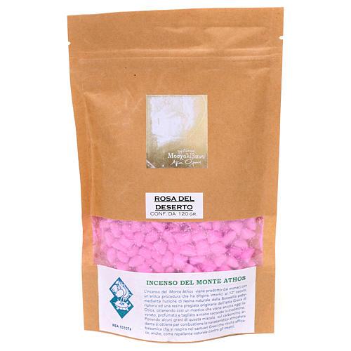 Incenso grego perfumado de rosa do deserto Monte Athos 120 g 2
