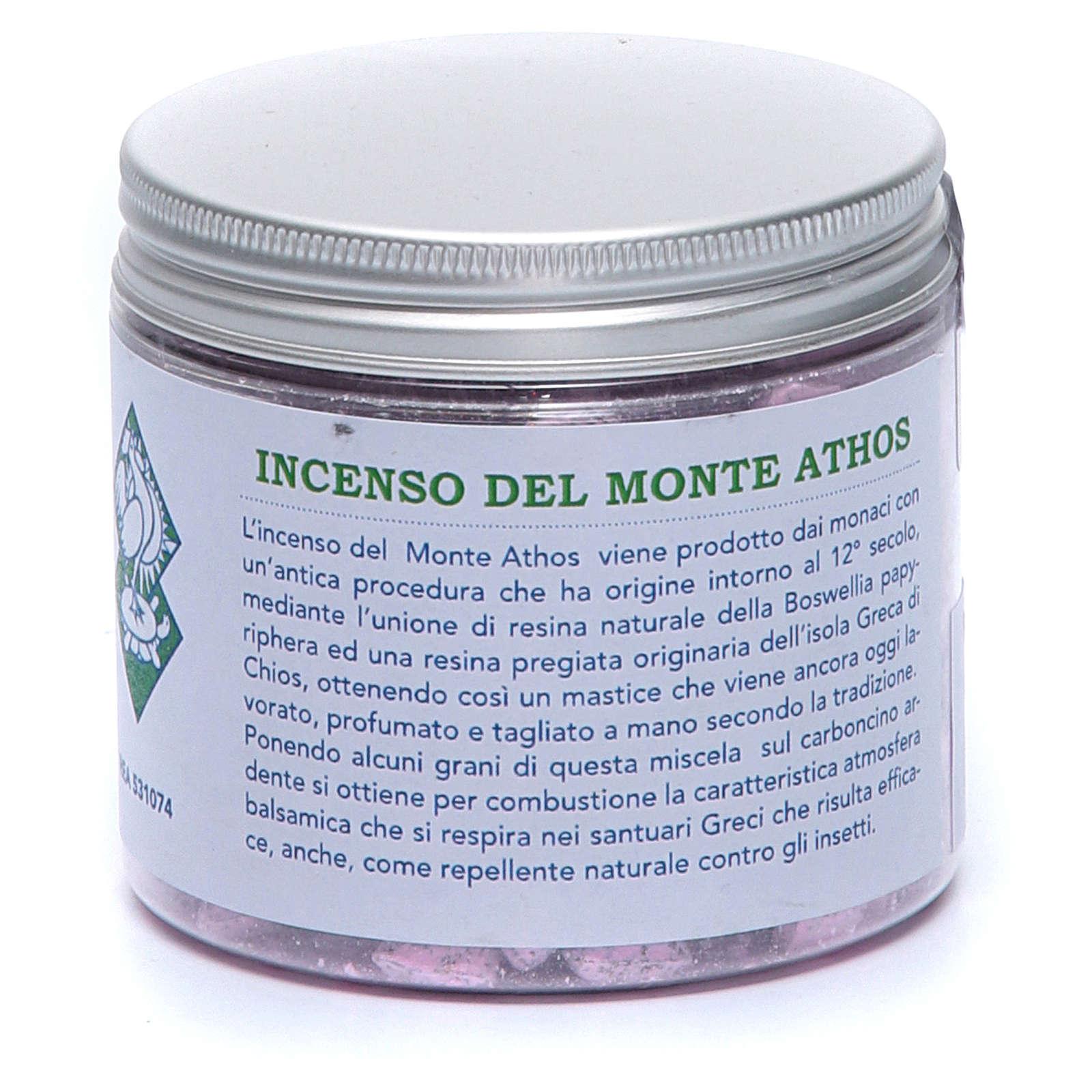 Incenso greco alla rosa monte Athos Monte Athos 120 gr 4
