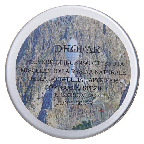 Incienso Dhofar en polvo 50 gr 2