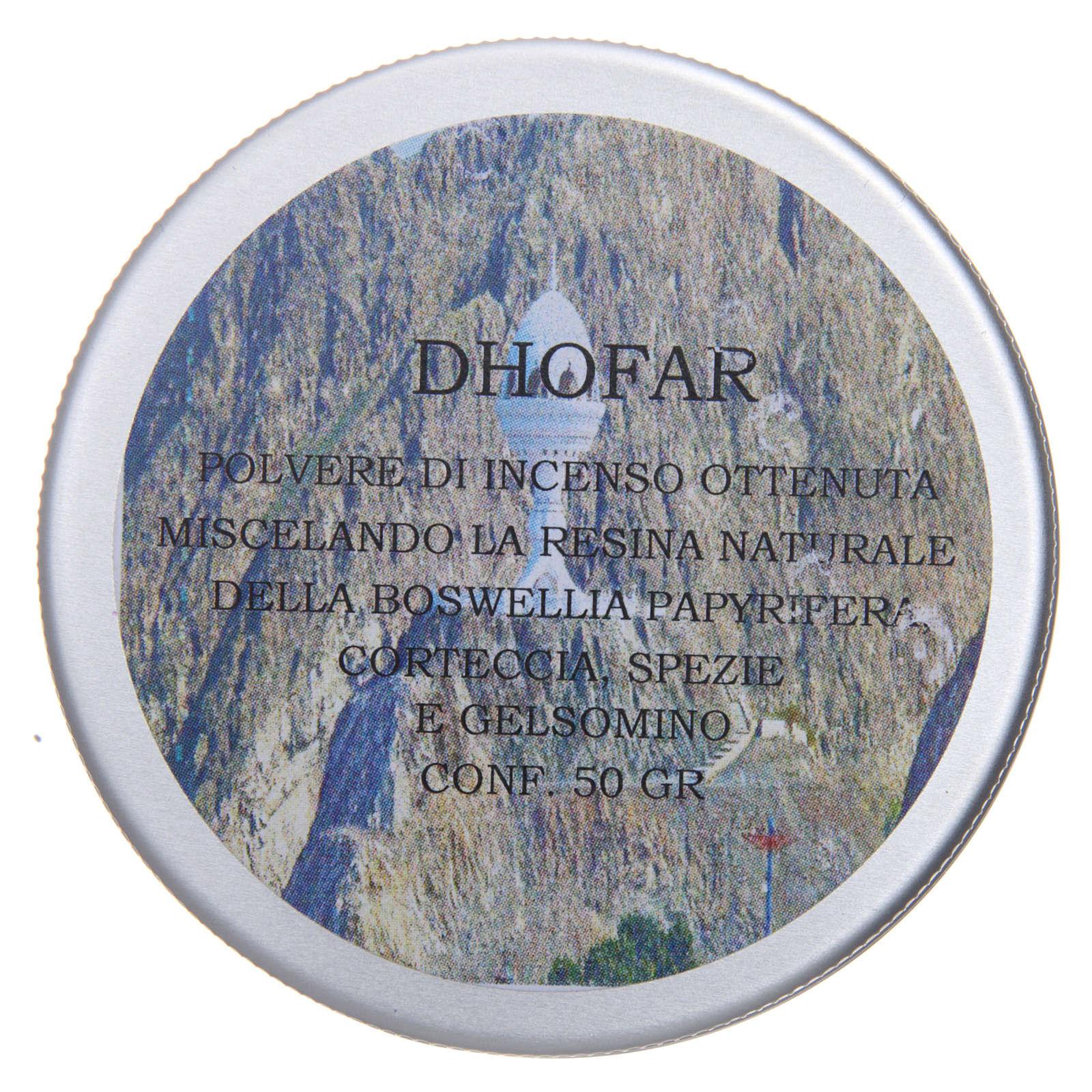 Kadzidło w proszku Dhofar 50g 3
