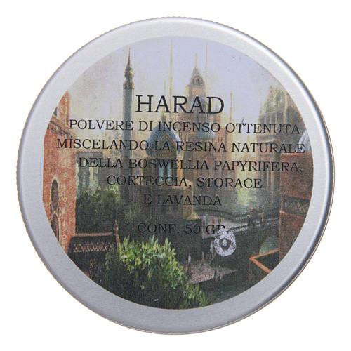 Encens en poudre Harad 50 gr 2