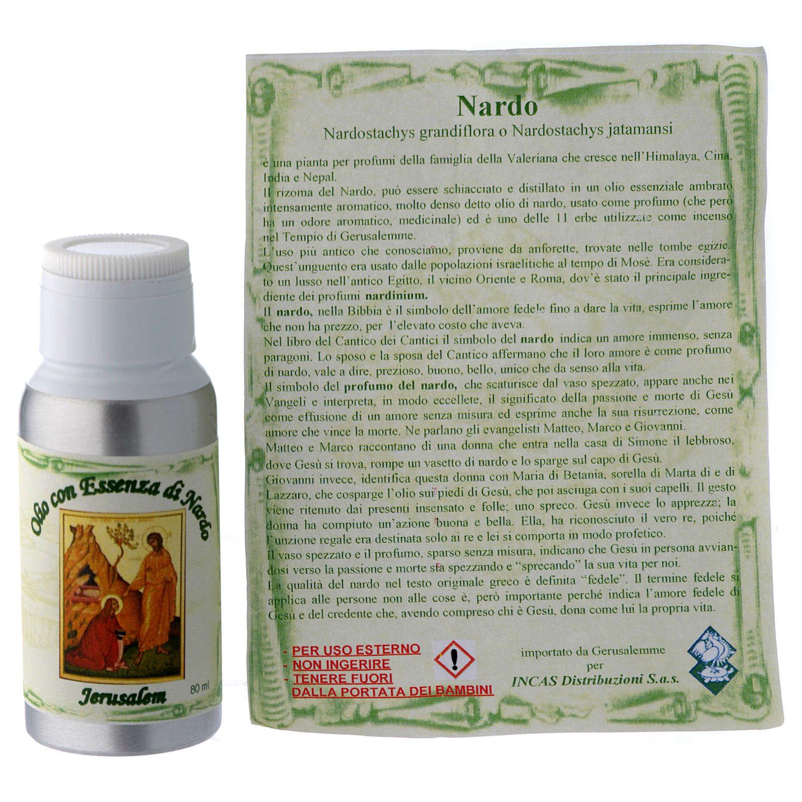 Aceite con esencia de Nardo 80 ml 3