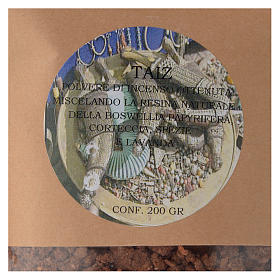 Poudre d'encens Taiz 200 gr s2