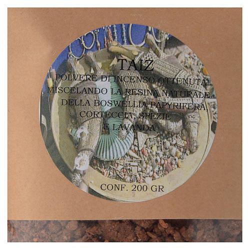 Poudre d'encens Taiz 200 gr 2