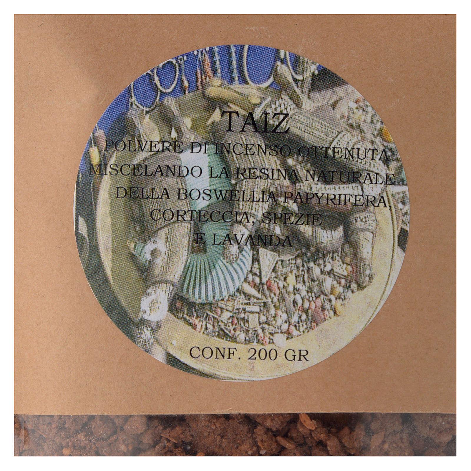 Polvere di incenso Taiz 200 gr 3