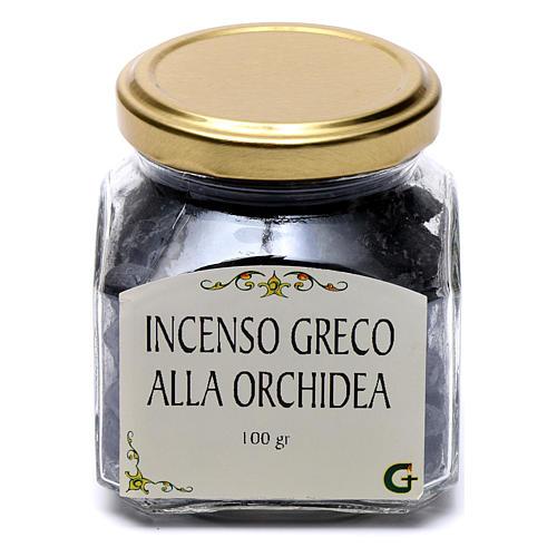 Greek incense orchid aroma 100 gr Mount Athos 2