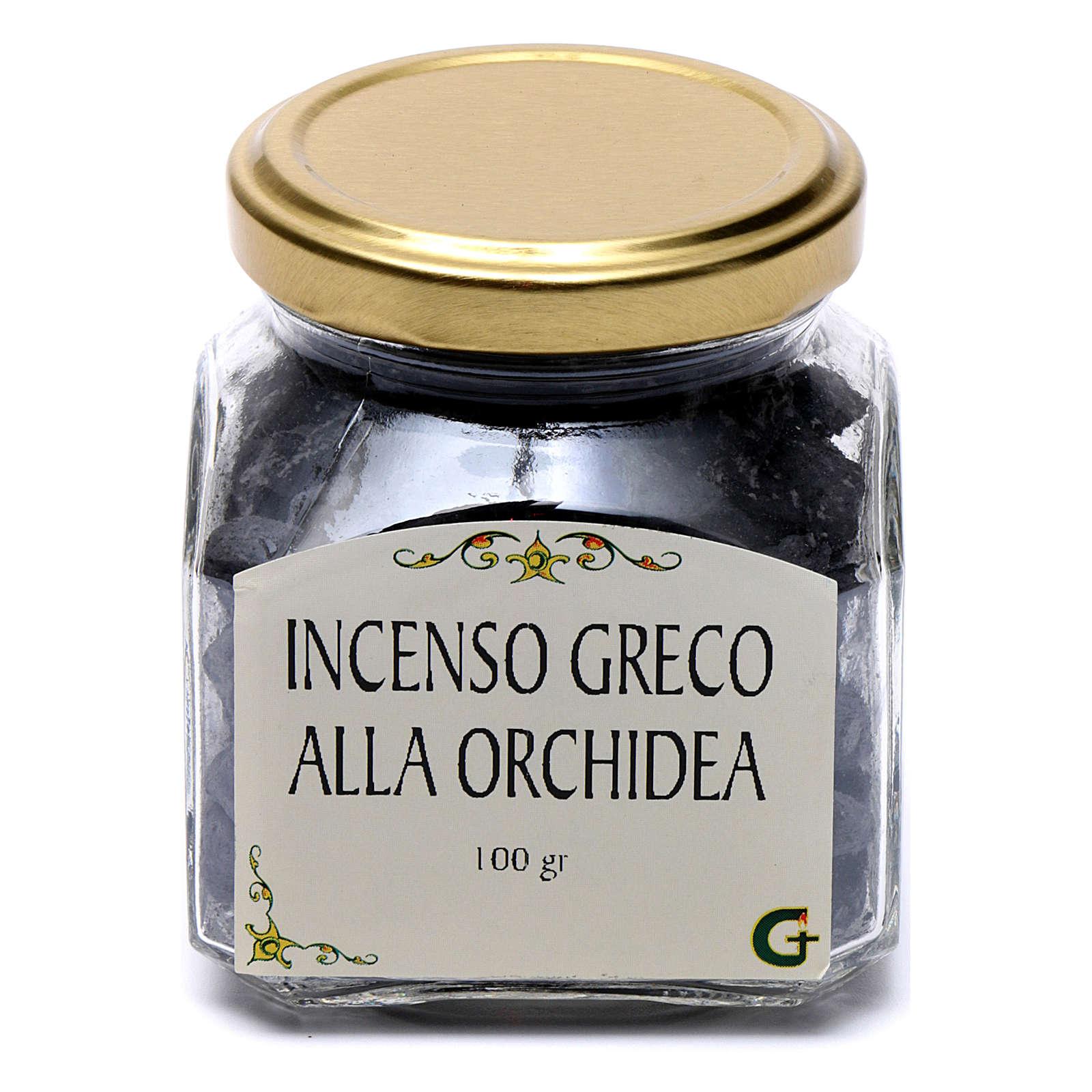 Incenso greco all'orchidea 100 gr Monte Athos 3