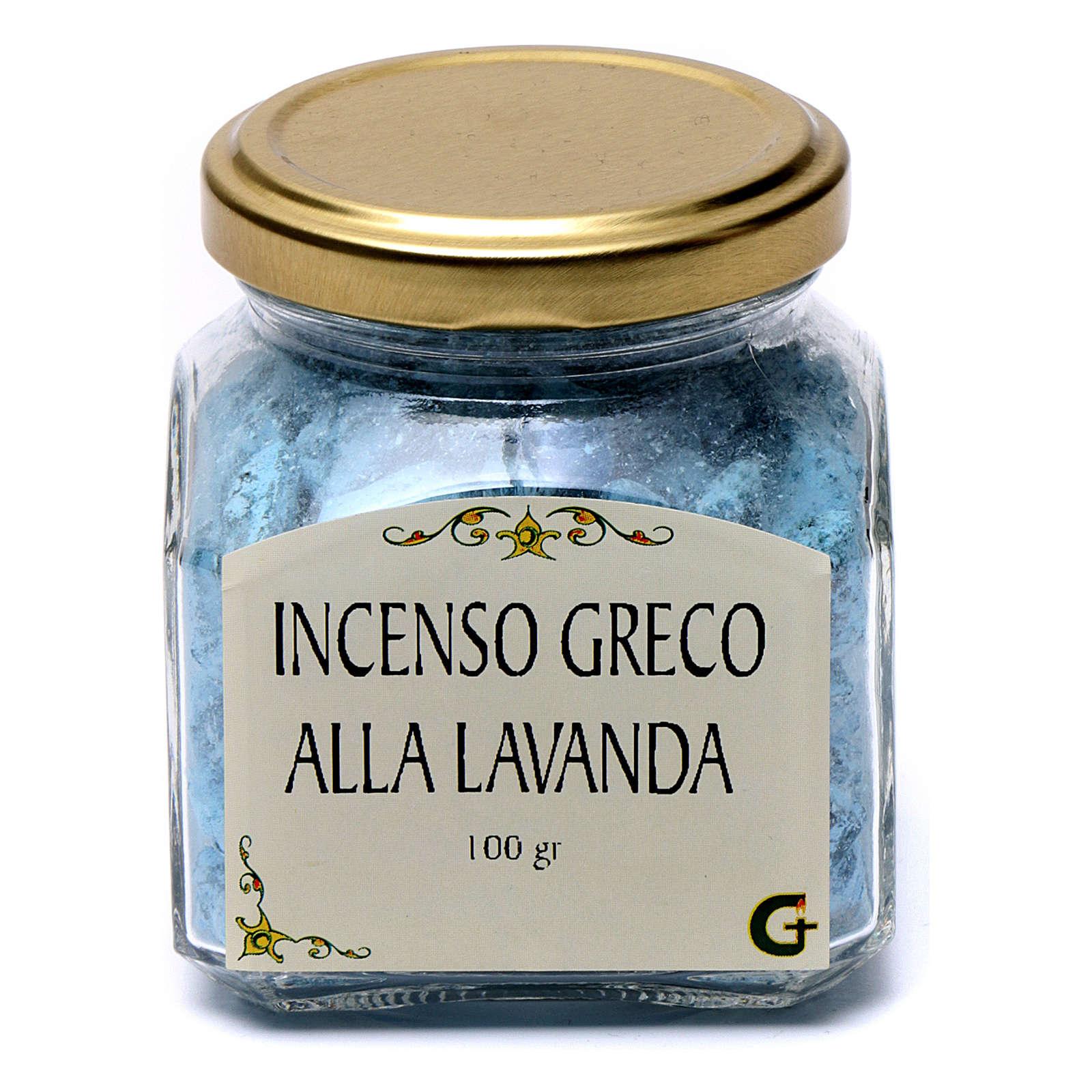 Kadzidło greckie zapach lawendy 100 g Góra Athos 3
