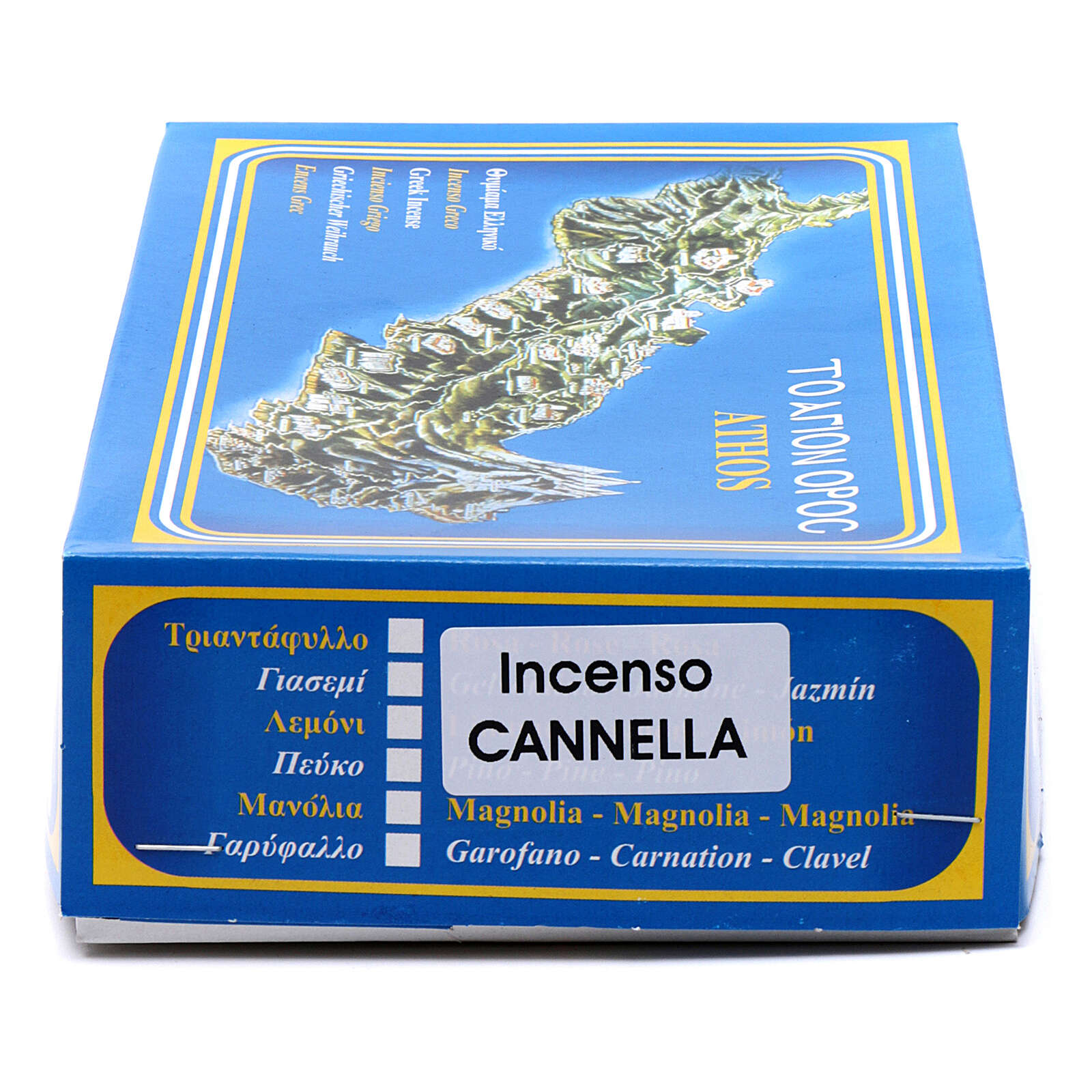 Incienso griego canela 1 kg Monte Athos 3
