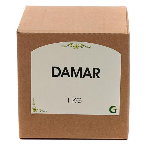 Damar resin incense 1 kg - 2 lb