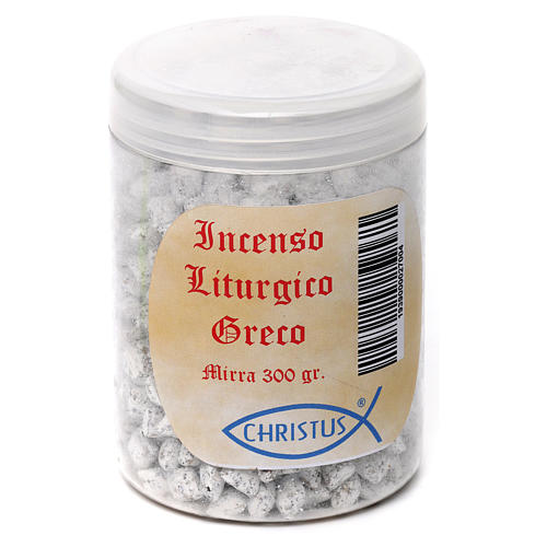 Incenso liturgico Greco 300 gr Mirra 2
