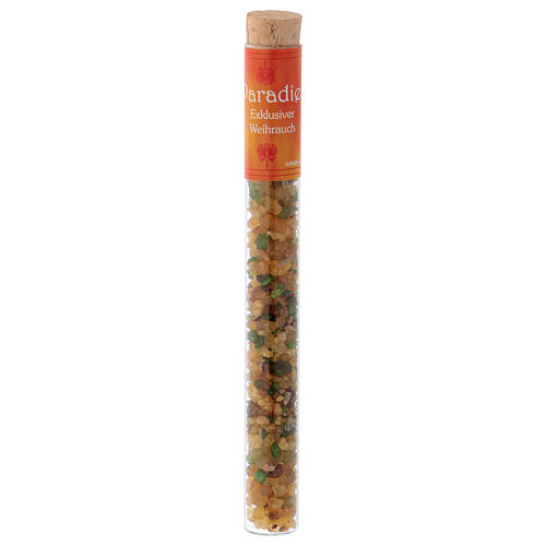 Paradiso-scented incense in tube 25 gr 1