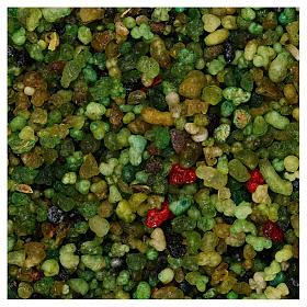 Encens parfumé petits grains verts 1 kg s1