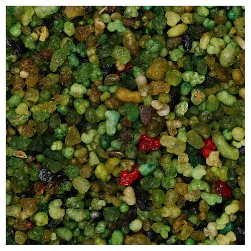 Encens parfumé petits grains verts 1 kg 1