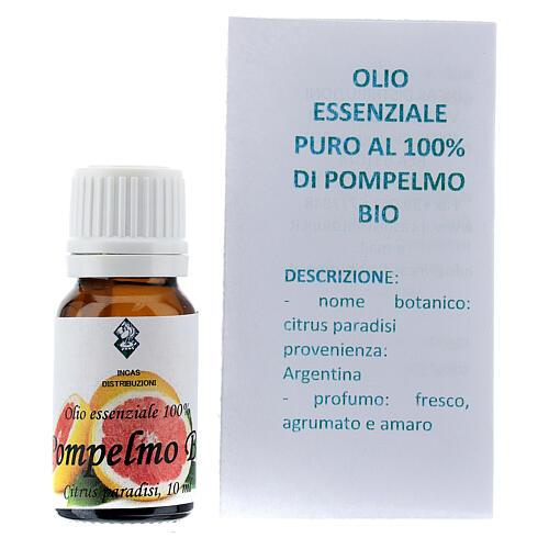Biologisches ätherisches Pampelmuse Ől, 10 ml