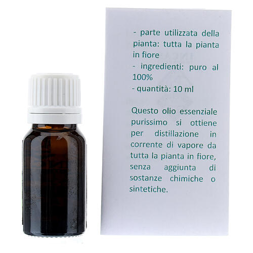 100% reines ätherisches Basilikum-Ől, 10 ml