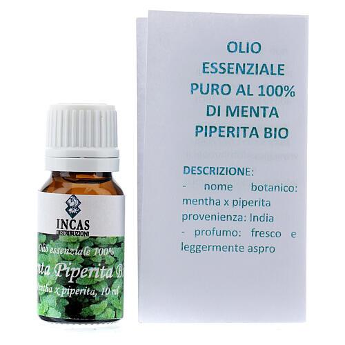 Biologisches Pfefferminz ätherisches Ől, 10 ml