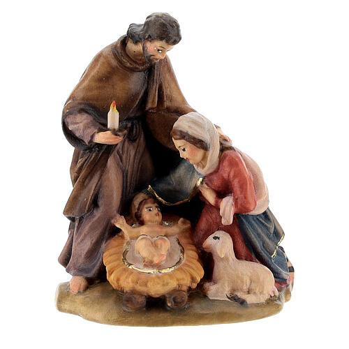 Natividad madera pintada a mano 1