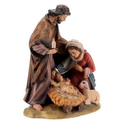 Natividad madera pintada a mano 3