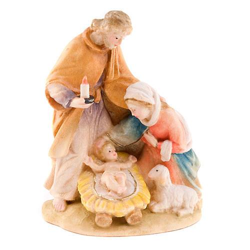 Hand Painted Wood Nativity Set
