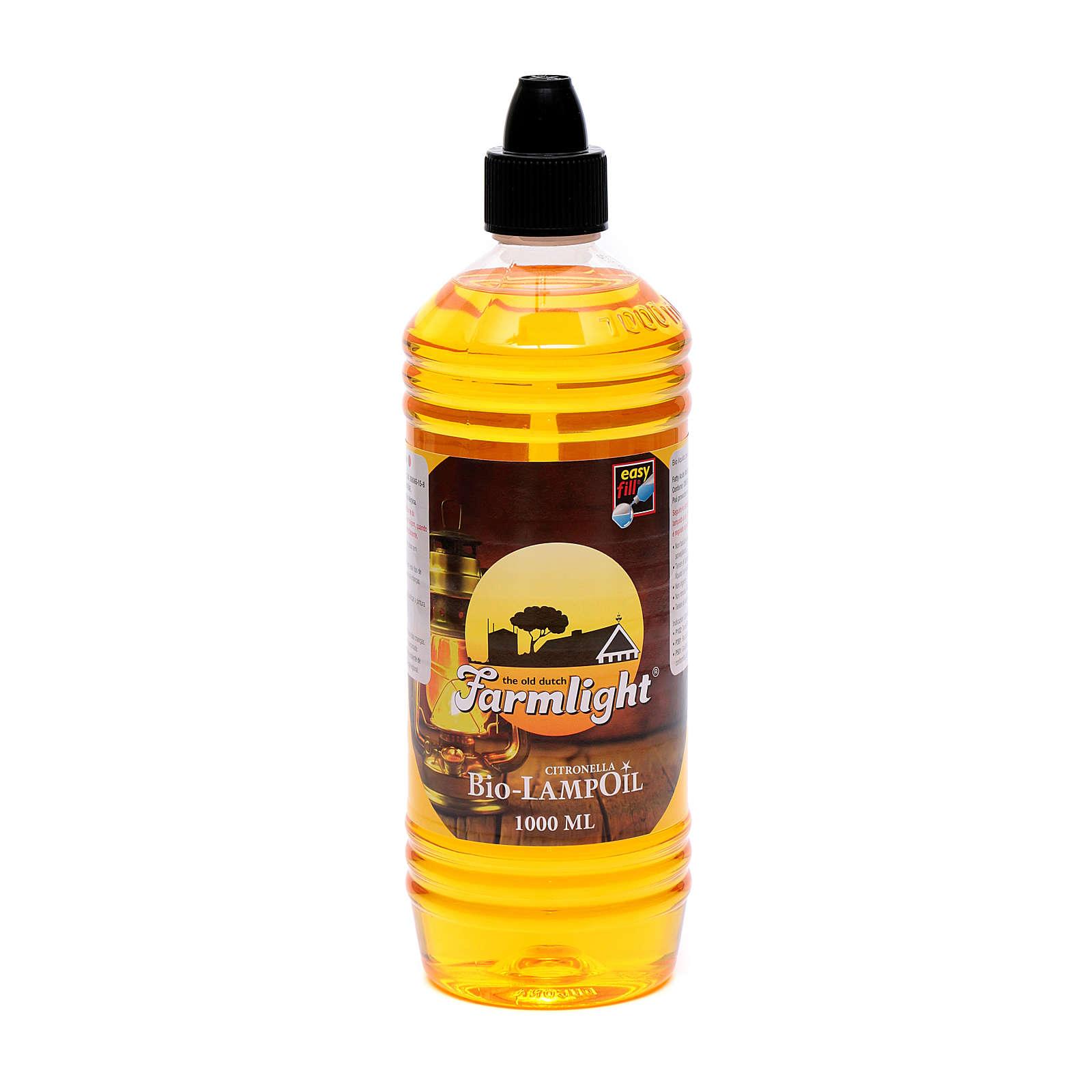 Flüssigwachs, Bio-Lampoil Citronella, 1 Liter 3
