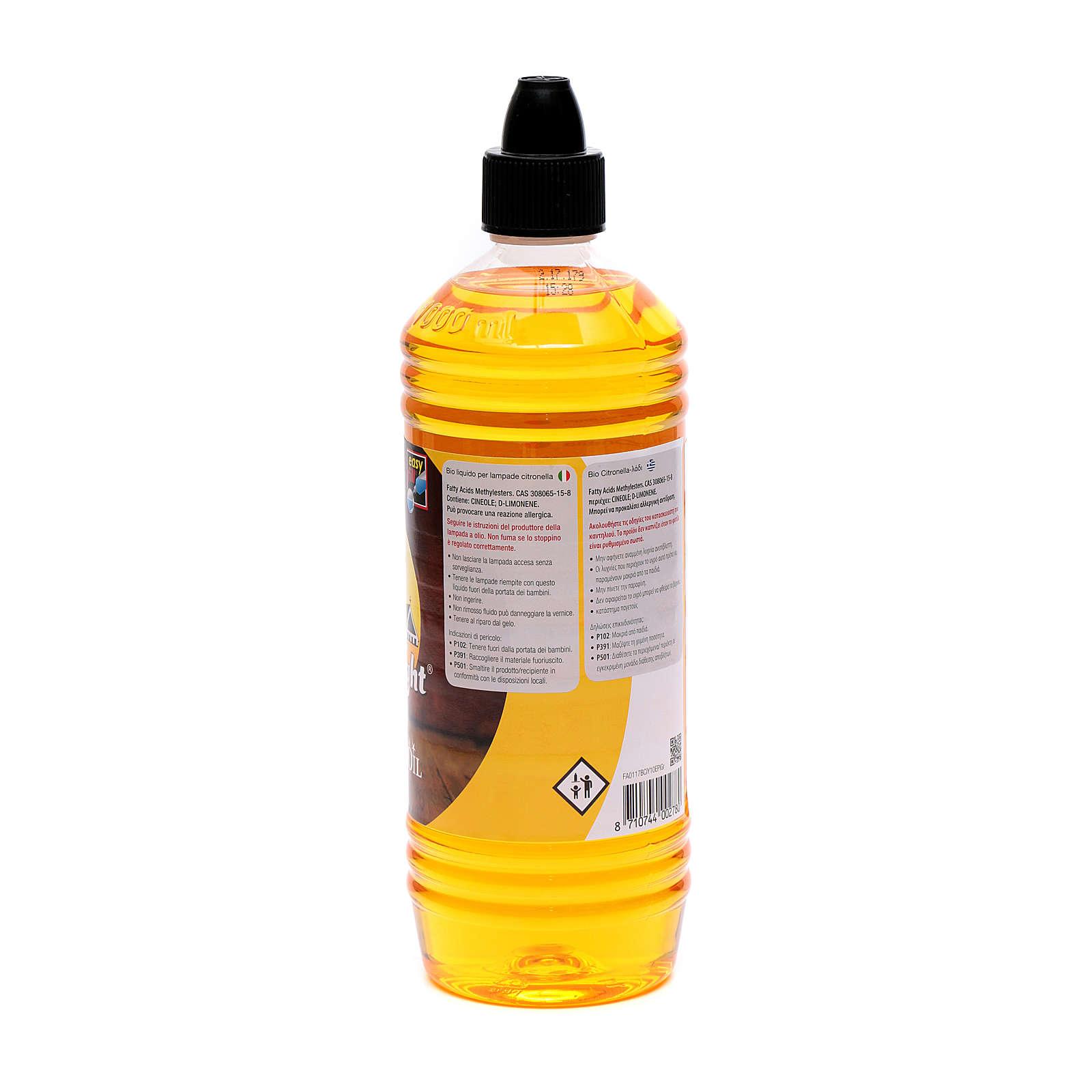 Huile végétale, 1 litre, Citrolamp 3