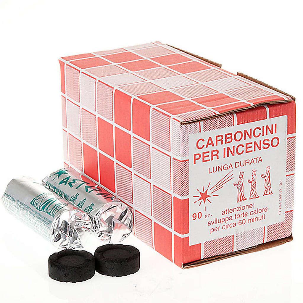 Carbones para incensarios 1 hora 3