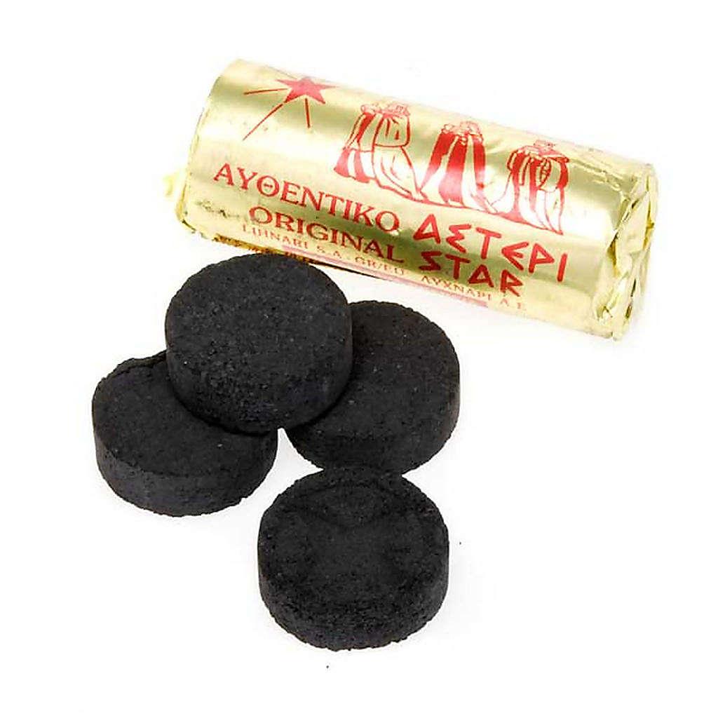Rauchfasskohlen, Konfektion zu 120 Stück, Ø 3,5 cm 3