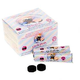 Carboncini aromatizzati 150 pezzi s1