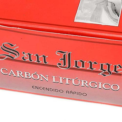 Carbones San Jorge 3 cm diámetro 3
